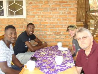 Ivan, myself, Matt and Scott